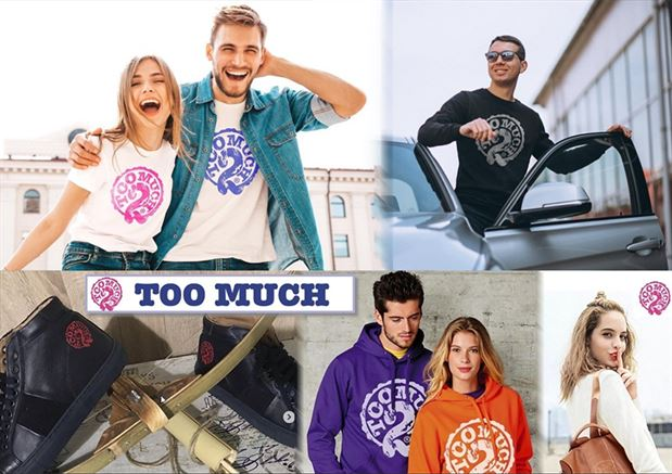TOO MUCH BEAUTY & FASHION MODA - T-SHIRT A 17,90€ INVECE DI 29,90€
